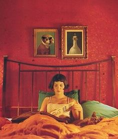 Amelie may be fictional but she counts for me as an Icon!