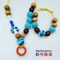 Collar y pulsera de lactancia #azul . #TalentoVenezolano #Mama #Bebe  #HechoaMano  #Lactancia #Lactanciamaterna #Lactanciaexclusiva #Mamaprimeriza #Collardelactancia #Collaresdelactancia #Collar #Collarmordedor  #Motricidadfina #Crochet #Breastfeeding #Mom #Baby #TeethingNecklace #Necklace #HandMade #Instamom #Collarporteo collar de lactancia  collares de lactancia #NaitaEspinosa @naitaespinosa Naita Espinosa