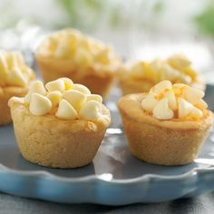White Chocolate Orange Cookie Cups.... looks interesting
