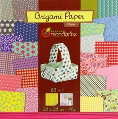 Avenue Mandarine Flowers Origami Paper Multi-color for sale online Paper Origami Flowers, Origami Paper, Diy Easter Cards, Origami Sheets, Flowers Online, Decoupage Paper, Stickers, Flower Designs, Baby