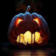 Halloween Ideen 2013: Kürbis Gesichter schnitzen: Halloween Kürbis Gesichter gruselig