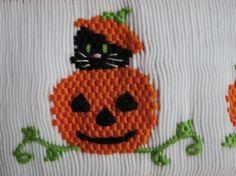 Halloween Smocking