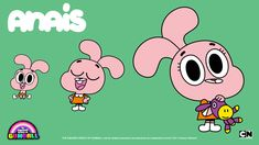 The Amazing World of Gumball Wallpaper: Anais Couple Wallpaper, Hd Wallpaper, Wallpapers, Old Cartoon Network, Funny Films, World Of Gumball, Thomas The Train, Animation Series, Cool Cartoons