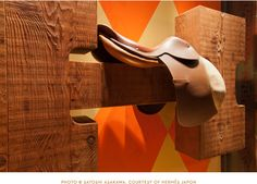 House Industries for Hermes  Ginza, Japan