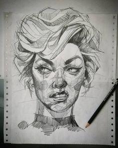 . No suelo olvidar una cara, pero con usted hare una excepción. #Lines #instadrawing #drawing #boceto #creative #instart #wip #sketching…
