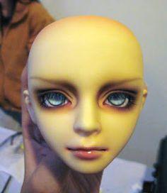 How to Sculpt and Mold a BJD Doll Head *Best* Doll Making Tutorials, Sculpting Tutorials, Making Dolls, Craft Tutorials, Artist Loft, New Dolls, Barbie Dolls, Doll Head, Polymer Clay Dolls