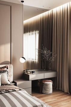 Bedroom Design Ideas Interior Design - Home Interior Design Ideas Modern Luxury Bedroom, Luxury Bedroom Design, Bedroom Closet Design, Bedroom Furniture Design, Home Room Design, Luxurious Bedrooms, Home Decor Bedroom, Home Interior Design, Master Bedroom