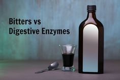 An analysis of whether digestive enzymes or traditional bitters are the best natural remedy for digestive ills such as heartburn, bloating, and nausea.