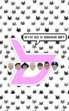 Ayo! Do U Wanna Be ? Block.B #Blockb #Block_b #Logo #Wallpaper #Lockscreen #Background #Cute