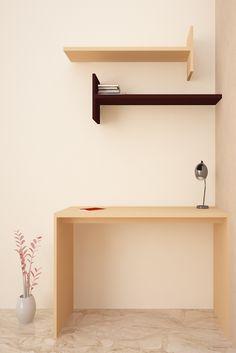 HomeLane: Full Home Interior Design Solutions, Get Instant Quotes. Study Tables, Study Desk, Cozy Corner, Organize Your Life, Home Interior Design, Flamingo, Minimalism, Living Spaces, Sweet Home