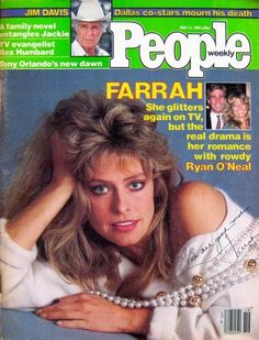 People Magazine May '81 Cover Feature Autographed by Farrah Fawcett | eBay