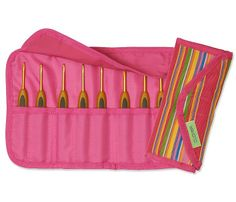 Clover Getaway Soft Touch Crochet Hook Gift by HandcraftedAccents, $56.00