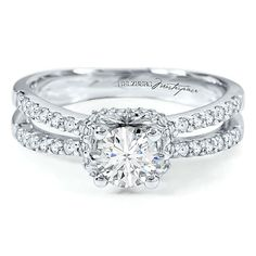 Brides.com: 64 Engagement Rings Under $5,000. Style 1761905, Diamond Masterpiece 1CT TW Engagement Ring in 18K Gold, $4,999, Helzberg  See more round-cut engagement rings.