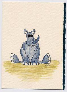 My dog sits like that. Don't think Rhinos can. Rhino Art, Rhinos, Rhinoceros, Dogs, Pet Dogs, Doggies