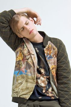 Sven Stoop at Independent men photographed by Steffen Rachou and styled by Jessica Martinelli with pieces from Giuseppe Morabito and a bridge crystal piercing from Givenchy by Riccardo Tisci, in exclusive for Fucking Young! Online.