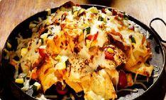LEBANESE RECIPES: Mediterranean Nachos Recipe