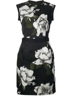All - Lanvin Sleeveless Floral Dress - Tessabit.com – Luxury Fashion For Men and Women: Shipping Worldwide