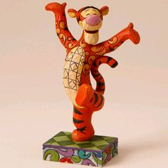 Heartwood Creek by Jim Shore: Disney Traditions Tigger Figurine