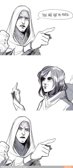 Ash wanted to do this so badly, but Xana would kill her so she just kept quiet. Dragon Age. Inquisitor