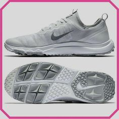 80ba32f8aea8 White/Wolf Grey Nike Ladies Fi Bermuda Golf Shoes available at Loris Golf  Shoppe