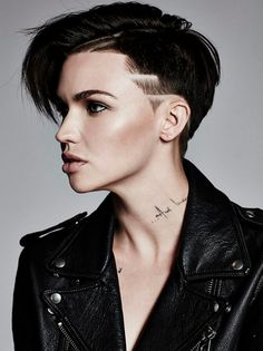 Ruby Rose Undercut Mane Addicts Manespiration 10 Super Short Haircuts We Love