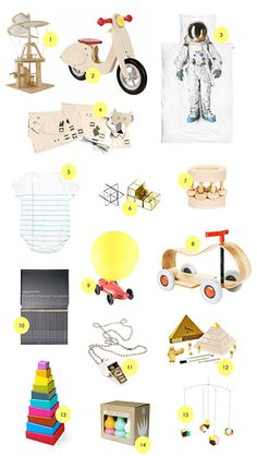 A few of my favorite online museum gift shops - a surprisingly perfect destination for baby/kids gifts of all ages!