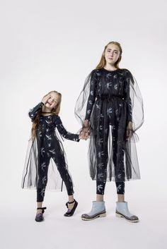 Прозрачная черная юбка из фатина/BLACK TULLE SKIRT