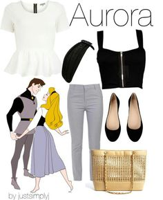 25 Cute Cartoons Inspired Outfits - Aurora Inspired Outfits 2 Source by judithremer - Disney Bound Outfits Casual, Cute Disney Outfits, Disney Themed Outfits, Disney Dresses, Casual Outfits, Cute Outfits, Disney Clothes, Cartoon Outfits, Dress Outfits