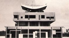 Le Corbusier's Governors Palace, Chandigarh, India