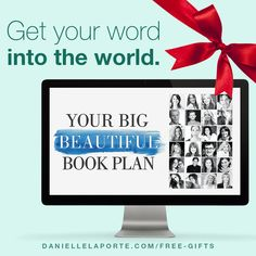 Do you know someone who's got an incredible book in them? An essential work just waiting to take flight in the world? Sure you do. And if they're like most people, they have no idea what to do to get that book into the hands of readers. This year, we're giving away Your Big Beautiful Book Plan as part of the 6-gift bundle.