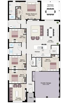 Floor plans for the new house