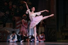 A snapshot of the Pacific Northwest Ballet's Nutcracker.