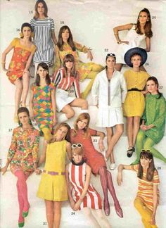 60s mod from a catalogue