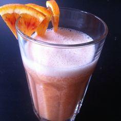Blodappelsin smoothie