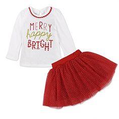 Hongxin Baby Birthday Party Dress Set,Cartoon Letter Printed Long Sleeve Romper+Mesh Tutu+Bow Hairband