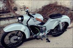 Simson Star Custom moped.