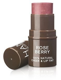 HAN Skin Care Cosmetics Natural Cheek and Lip Tint Rose Berry >>> Want additional info? Click on the image.