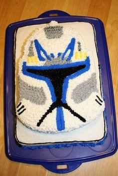 Say It Sweetly: Star Wars: The Clone Wars Cake 02/21/2009