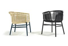Tradition Meets Modern: Rattan Chair by Cappellini