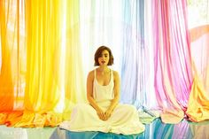 Lily Collins Talks her New Film Love, Rosie, Abercrombie & Fitch and Teen Pregnancy | Lily Collins in Adam Lippes