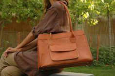 Gundara #fairtrade leather bag