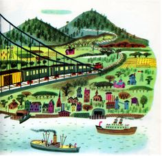 The Train to Timbuctoo - written by Margaret Wise Brown, illustrated by Art Seiden (1951).