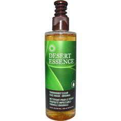 Desert Essence, Thoroughly Clean Face Wash - Original