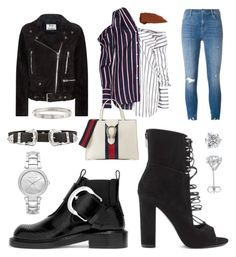 """""""day to night"""" by boturovic-kristina on Polyvore featuring Kendall + Kylie, Monse, J Brand, Acne Studios, Maison Margiela, Cartier, Gucci, B-Low the Belt and Michael Kors"""