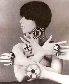 60s, black and white, fashion, girl, hair