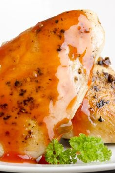 Quick and Easy Apricot Pecan #Chicken #Recipe