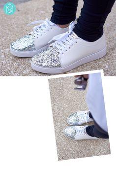 White sneakers Vizzano == Mari Saad