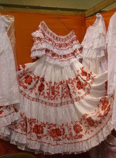 The traditional dress of Panama - Pollera