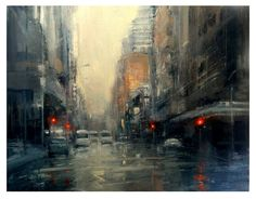 Peter Hall - After the Rain, Bree Street