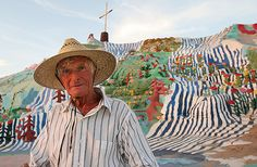 Salvation Mountain- In Loving Memory Of Leonard Knight!! Such an amazing soul and creator of beauty!! He will be missed!!